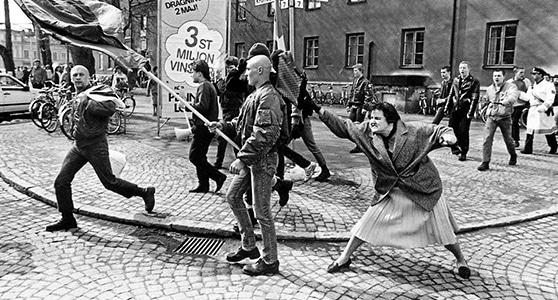Contestazione ai nazifascisti